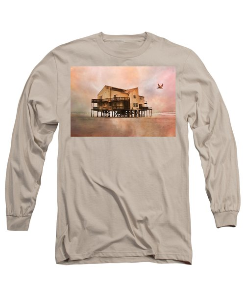 Cottage Of The Past Long Sleeve T-Shirt