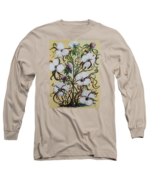 Cotton #1 - King Cotton Long Sleeve T-Shirt