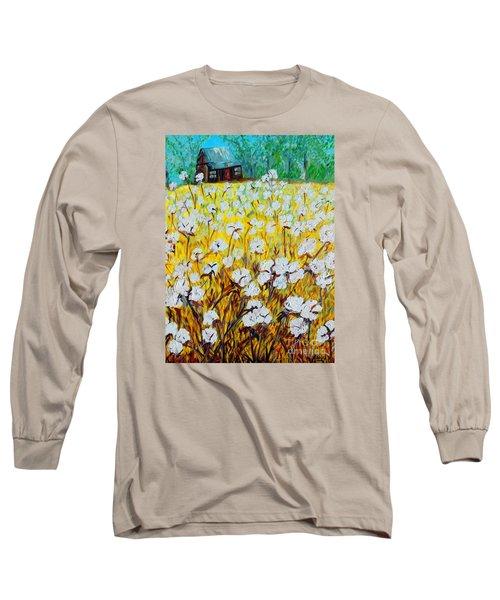 Cotton Fields Back Home Long Sleeve T-Shirt