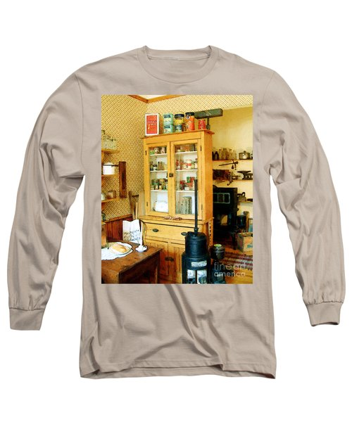 Long Sleeve T-Shirt featuring the painting Country Kitchen Sunshine IIi by RC deWinter