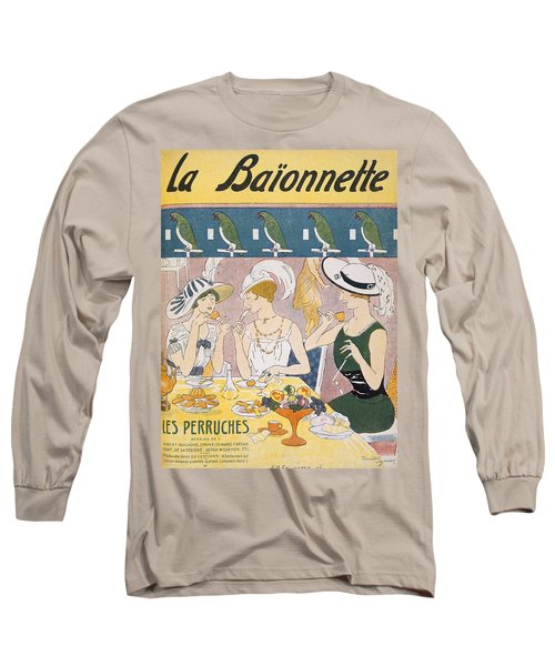 Cover Illustration From La Baionnette Long Sleeve T-Shirt