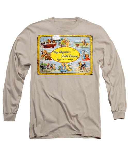Cowboy Lunchbox Long Sleeve T-Shirt