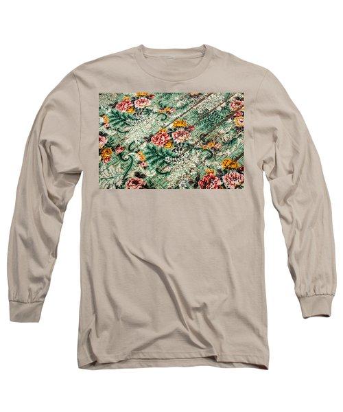 Cracked Linoleum Long Sleeve T-Shirt