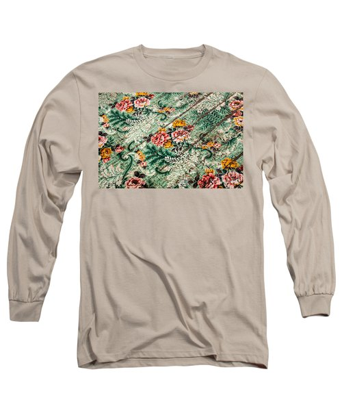 Cracked Linoleum Long Sleeve T-Shirt