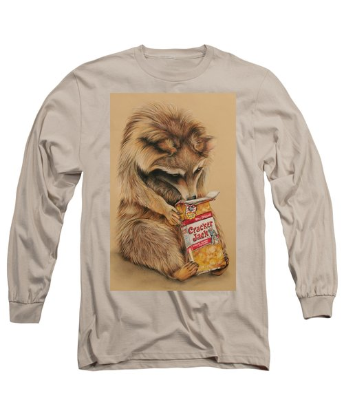 Cracker Jack Bandit Long Sleeve T-Shirt by Jean Cormier