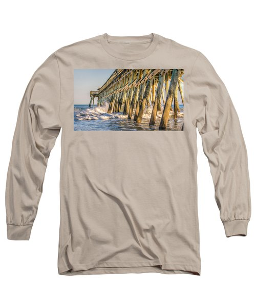 Long Sleeve T-Shirt featuring the photograph Crash by Rob Sellers