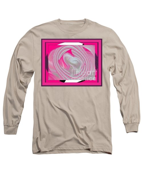 Long Sleeve T-Shirt featuring the digital art Callie by Catherine Lott