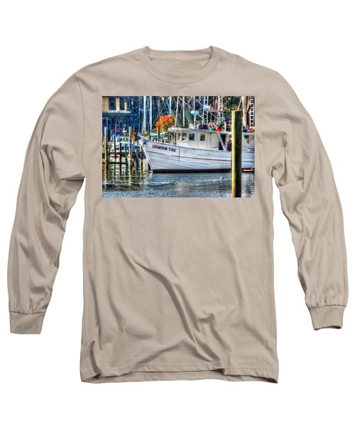 Crimson Tide In Harbor Long Sleeve T-Shirt