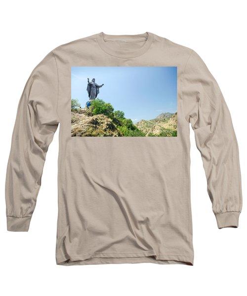 Cristo Rei Statue Near Dili East Timor Timor Leste Long Sleeve T-Shirt
