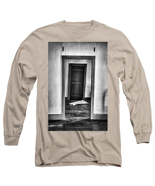 Crooked Door Long Sleeve T-Shirt