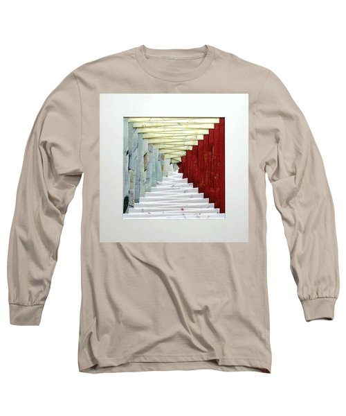 Crooked Staircase Long Sleeve T-Shirt