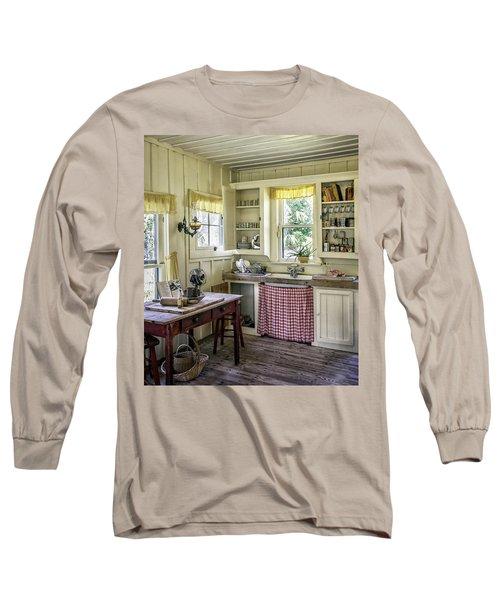 Cross Creek Country Kitchen Long Sleeve T-Shirt by Lynn Palmer