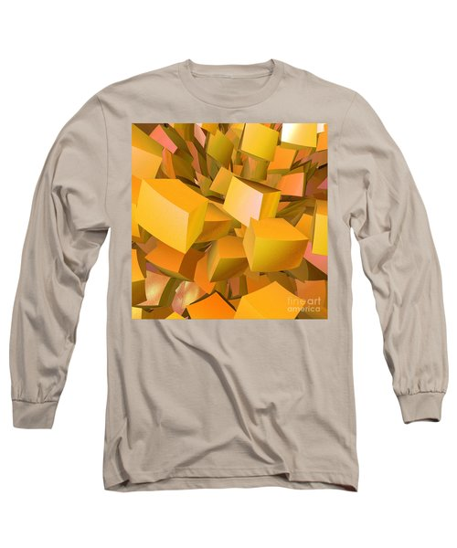 Cubist Melon Burst By Jammer Long Sleeve T-Shirt