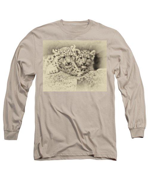 Cubs At Play Long Sleeve T-Shirt