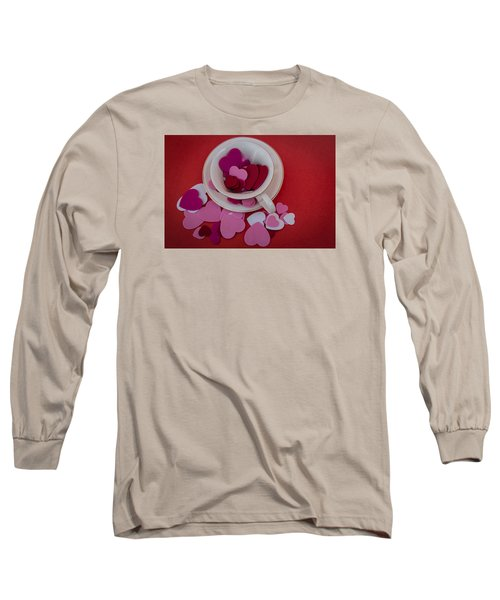 Long Sleeve T-Shirt featuring the photograph Cup Full Of Love by Patrice Zinck