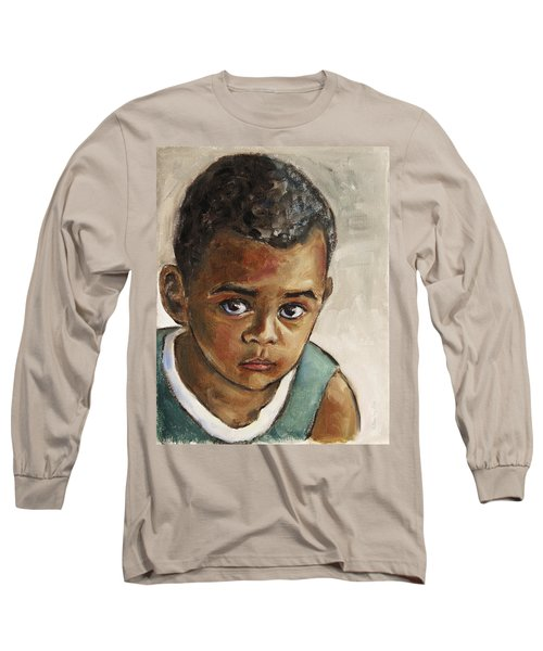 Curious Little Boy Long Sleeve T-Shirt