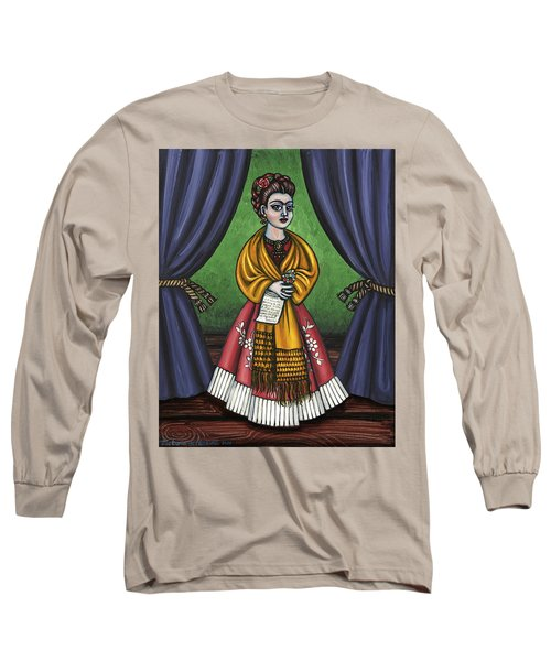Curtains For Frida Long Sleeve T-Shirt