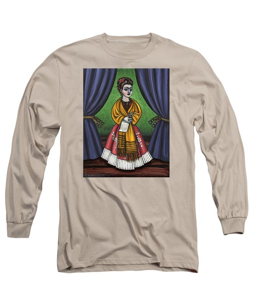 Curtains For Frida Long Sleeve T-Shirt