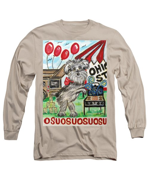 Osu Tailgating Dog Long Sleeve T-Shirt