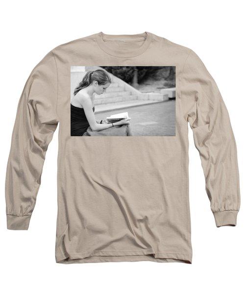 Cute Reader Long Sleeve T-Shirt