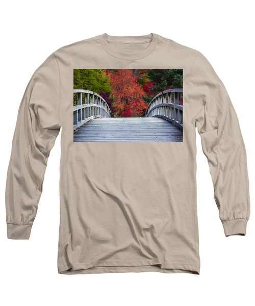 Long Sleeve T-Shirt featuring the photograph Cypress Bridge by Sebastian Musial