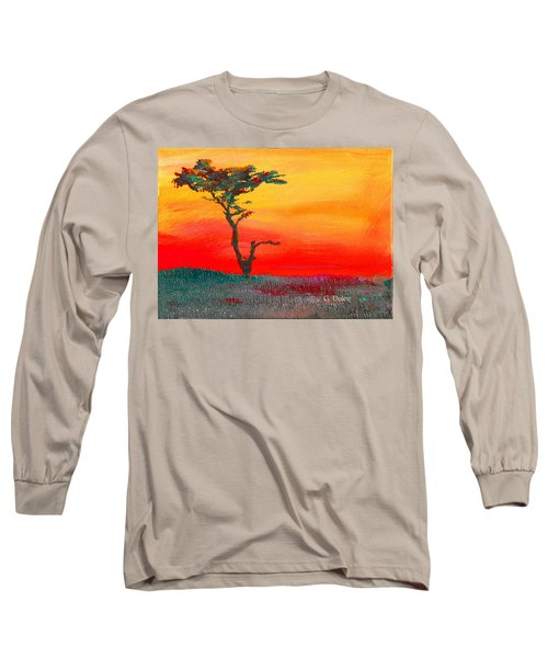 Cypress Sunrise Long Sleeve T-Shirt