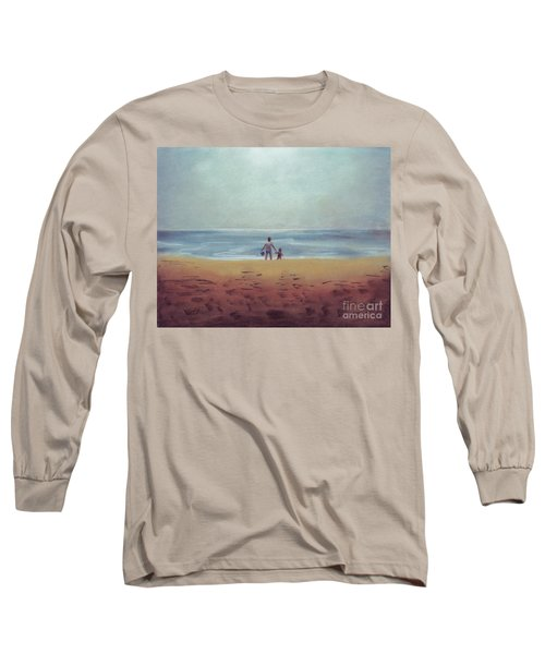 Daddy At The Beach Long Sleeve T-Shirt