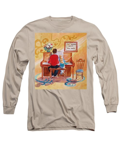 Daddy's Little Girl Long Sleeve T-Shirt by Marilyn Jacobson