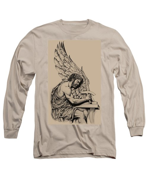 Daedalus Workshop Long Sleeve T-Shirt by Derrick Higgins