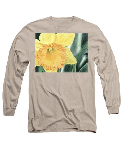 Daffodil Dayz Long Sleeve T-Shirt