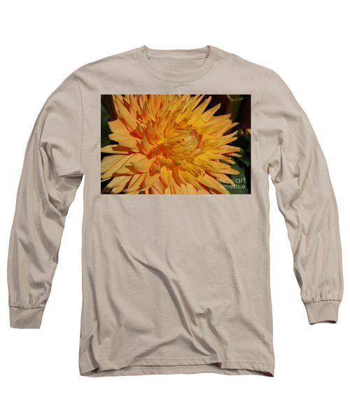 Long Sleeve T-Shirt featuring the photograph Dahlia Xiii by Christiane Hellner-OBrien