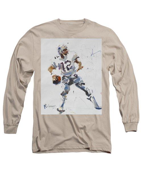 Dallas Cowboys - Roger Staubach Long Sleeve T-Shirt
