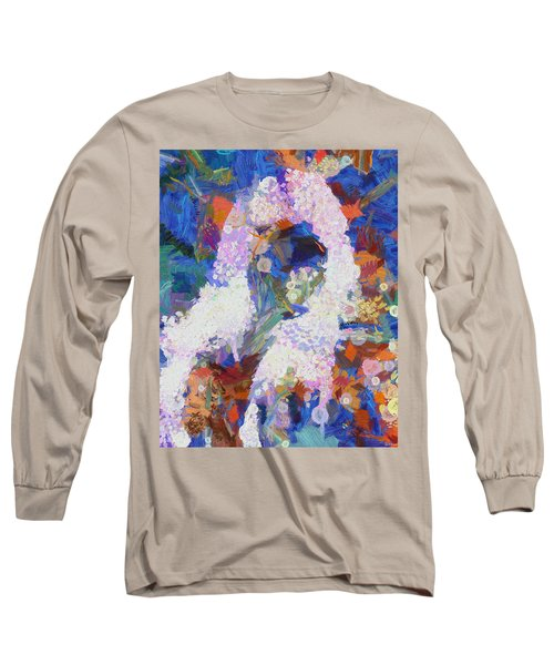 Long Sleeve T-Shirt featuring the painting Dance Of Fools by Joe Misrasi