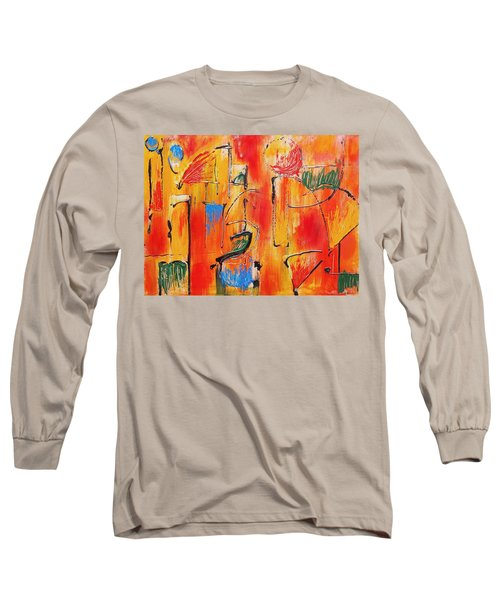 Dancing In The Heat Long Sleeve T-Shirt by Jason Williamson