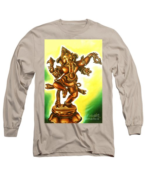 Dancing Vinayaga Long Sleeve T-Shirt