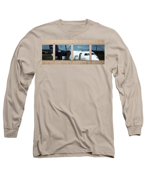 Dash Reflection Long Sleeve T-Shirt by Greg Reed