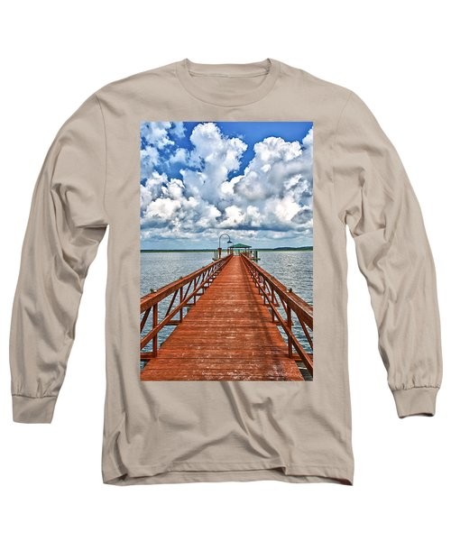 Daufuskie Pier Long Sleeve T-Shirt
