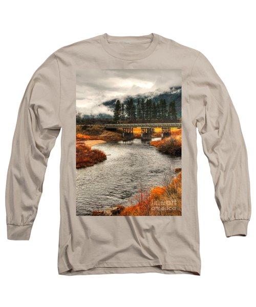 Long Sleeve T-Shirt featuring the photograph Daveys Bridge by Sam Rosen