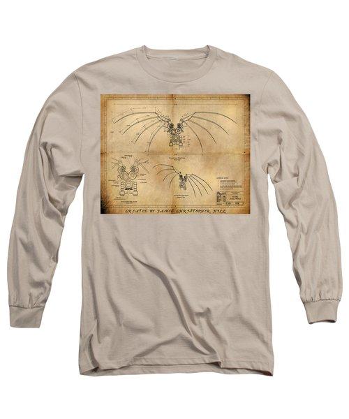 Davinci's Wings Long Sleeve T-Shirt