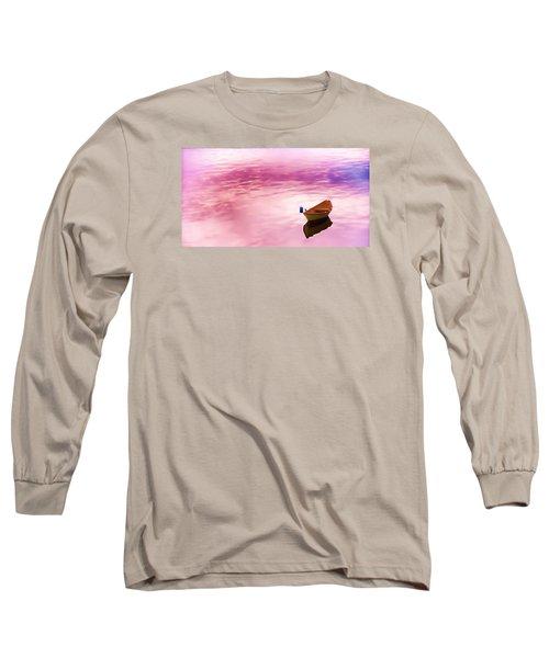 Dawns Light Reflected Long Sleeve T-Shirt by Jeff Folger
