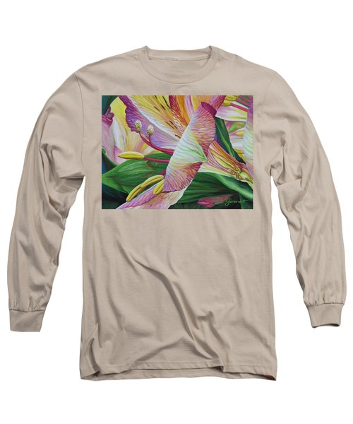 Day Lilies Long Sleeve T-Shirt