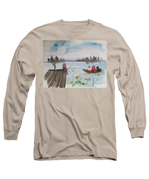 Day Of Fishing Long Sleeve T-Shirt