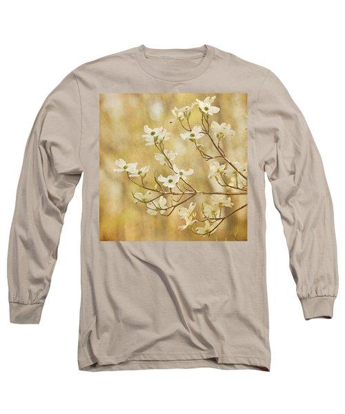 Days Of Dogwoods Long Sleeve T-Shirt