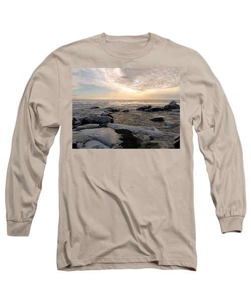 Dazzling Winter On Lake Superior Long Sleeve T-Shirt