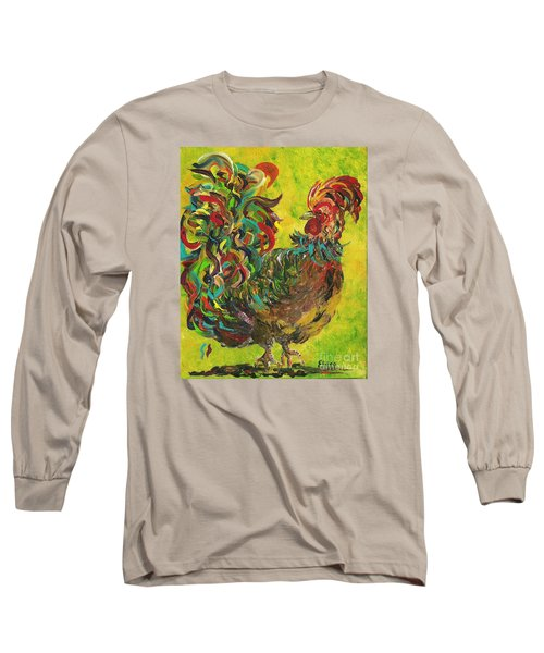 De Colores Rooster #2 Long Sleeve T-Shirt