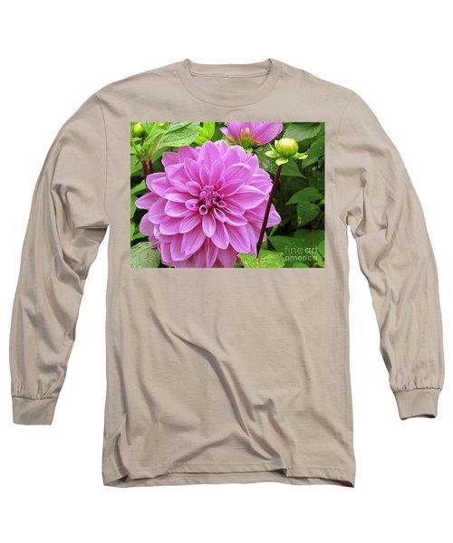 Decadent Dahlia   Long Sleeve T-Shirt