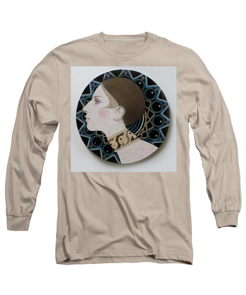 Deco Barbra Long Sleeve T-Shirt by Richard Laeton