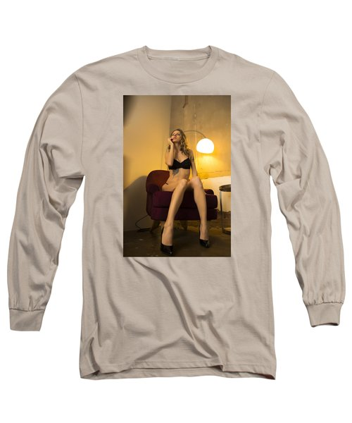 Long Sleeve T-Shirt featuring the photograph Deep Thoughts 1 by Mez