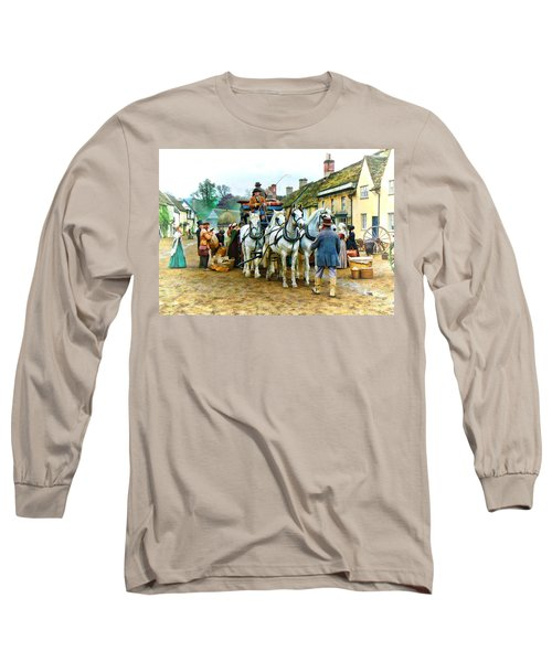 Departing Cranford Long Sleeve T-Shirt by Paul Gulliver