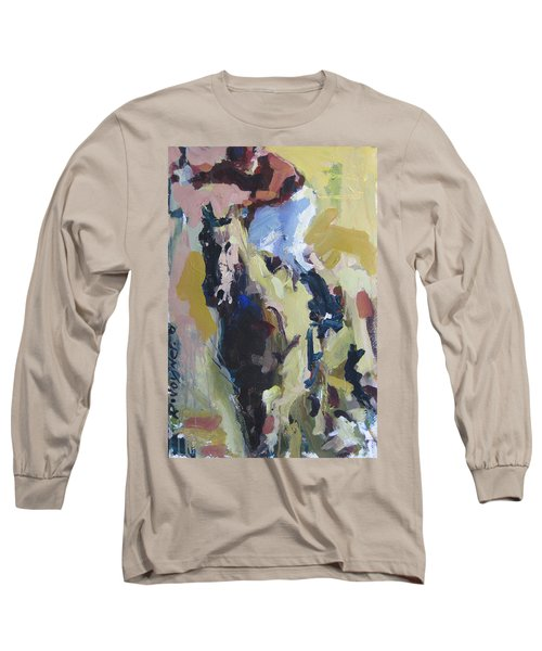 Long Sleeve T-Shirt featuring the painting Derby Dwellers by Robert Joyner